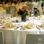 mesa preparada para comuniones asador cenes