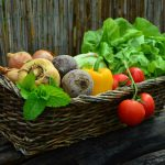 verduras de dieta mediterranea